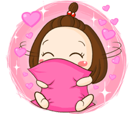 TuaLek : a tiny cute girl [Eng] sticker #9024165
