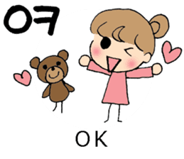 Korean and Japanese stickers sticker #9030046