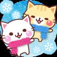 にゃーにゃー団の冬 | LINE STORE