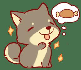 tibi shibainu Sticker( no language ver) sticker #9032060