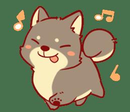 tibi shibainu Sticker( no language ver) sticker #9032076