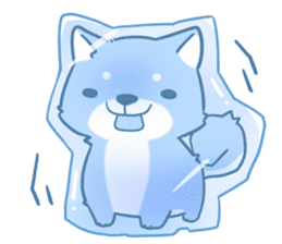 tibi shibainu Sticker( no language ver) sticker #9032080