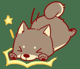tibi shibainu Sticker( no language ver) sticker #9032087