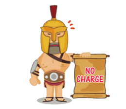 One Day A Certain Gladiator-eng sticker #9033353