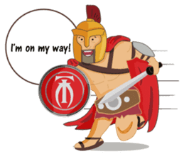 One Day A Certain Gladiator-eng sticker #9033355