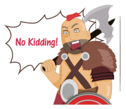 One Day A Certain Gladiator-eng sticker #9033387