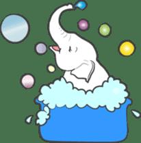 Lucky happy elephants sticker #9043658