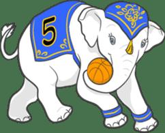Lucky happy elephants sticker #9043677