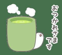 Yuru kawaii Java sparrow sticker #9046434