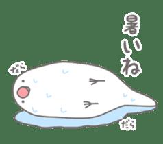 Yuru kawaii Java sparrow sticker #9046449