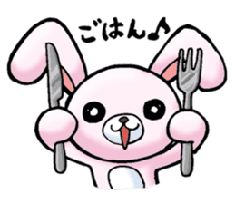 Bloody Rabbit Life sticker #9046624