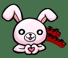 Bloody Rabbit Life sticker #9046630