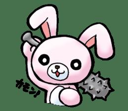Bloody Rabbit Life sticker #9046633