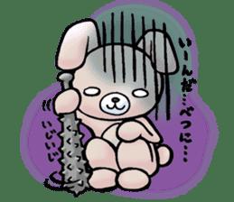 Bloody Rabbit Life sticker #9046642