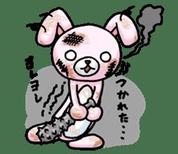 Bloody Rabbit Life sticker #9046643