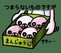 Bloody Rabbit Life sticker #9046651