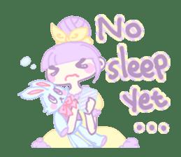 KawaiiHarajukuGirl(english) sticker #9060472