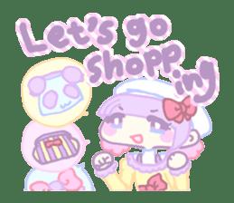 KawaiiHarajukuGirl(english) sticker #9060478