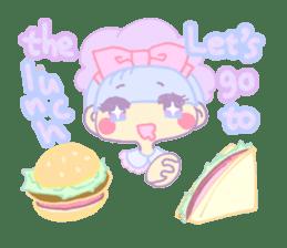 KawaiiHarajukuGirl(english) sticker #9060485