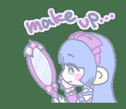 KawaiiHarajukuGirl(english) sticker #9060489