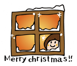 Stickers at Christmas and New Year's sticker #9063056