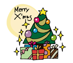 Stickers at Christmas and New Year's sticker #9063061