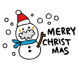 Stickers at Christmas and New Year's sticker #9063067