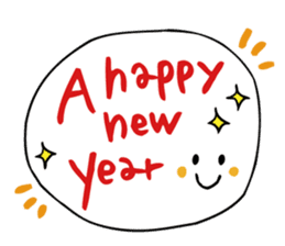 Stickers at Christmas and New Year's sticker #9063090
