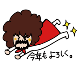 Stickers at Christmas and New Year's sticker #9063092