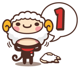 Monkey New Year Sticker 2016 sticker #9064126