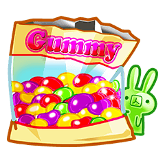 Gummy candy rabbit 1