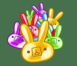 Gummy candy rabbit 1 sticker #9068259
