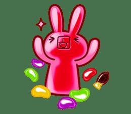 Gummy candy rabbit 1 sticker #9068261