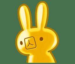 Gummy candy rabbit 1 sticker #9068262