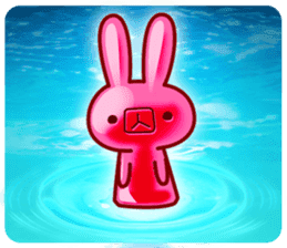 Gummy candy rabbit 1 sticker #9068263