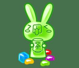 Gummy candy rabbit 1 sticker #9068265