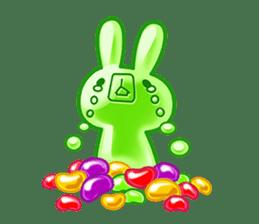 Gummy candy rabbit 1 sticker #9068267