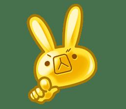 Gummy candy rabbit 1 sticker #9068268