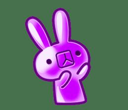 Gummy candy rabbit 1 sticker #9068274