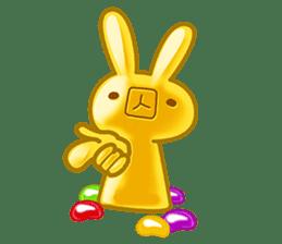 Gummy candy rabbit 1 sticker #9068278