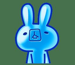 Gummy candy rabbit 1 sticker #9068279