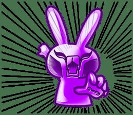 Gummy candy rabbit 1 sticker #9068283