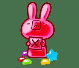 Gummy candy rabbit 1 sticker #9068284