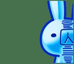 Gummy candy rabbit 1 sticker #9068287
