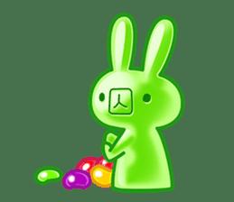 Gummy candy rabbit 1 sticker #9068294