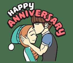 Couple in Love sticker #9073382
