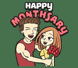 Couple in Love sticker #9073383