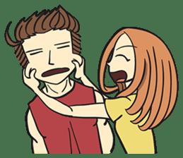 Couple in Love sticker #9073386