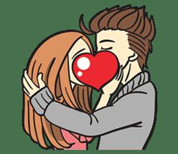 Couple in Love sticker #9073397