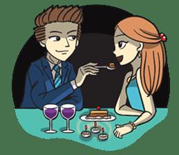 Couple in Love sticker #9073399